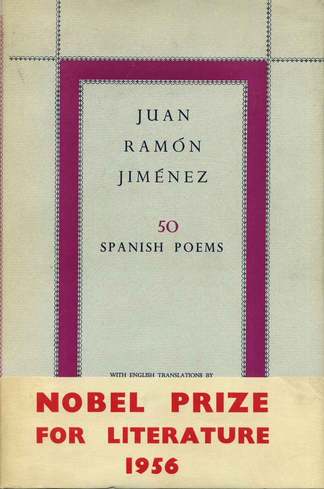 Fifty Spanish Poems With English Translations By J B Trend By Juan Ramon Jimenez On Kurt Gippert Bookseller
