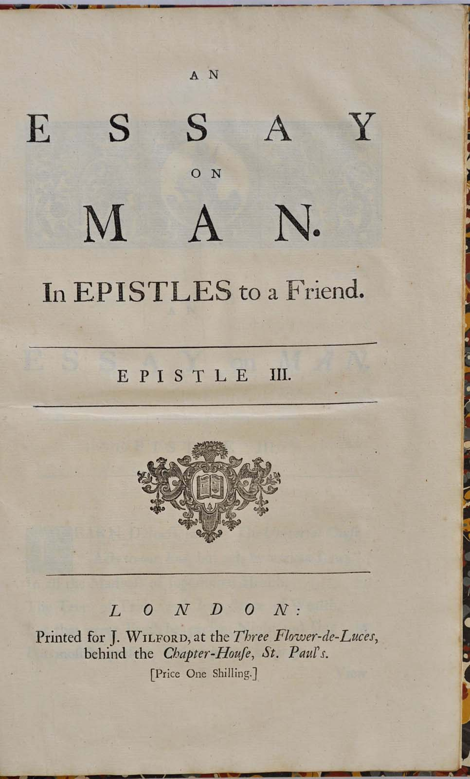 an essay on man an essay on man in epistles to a friend epistle  an essay on man in epistles to a friend epistle i ii iii and iv