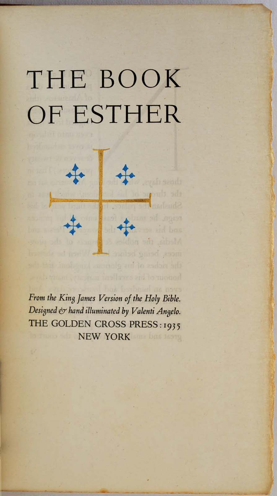 the book of esther from the king james version of the holy bible