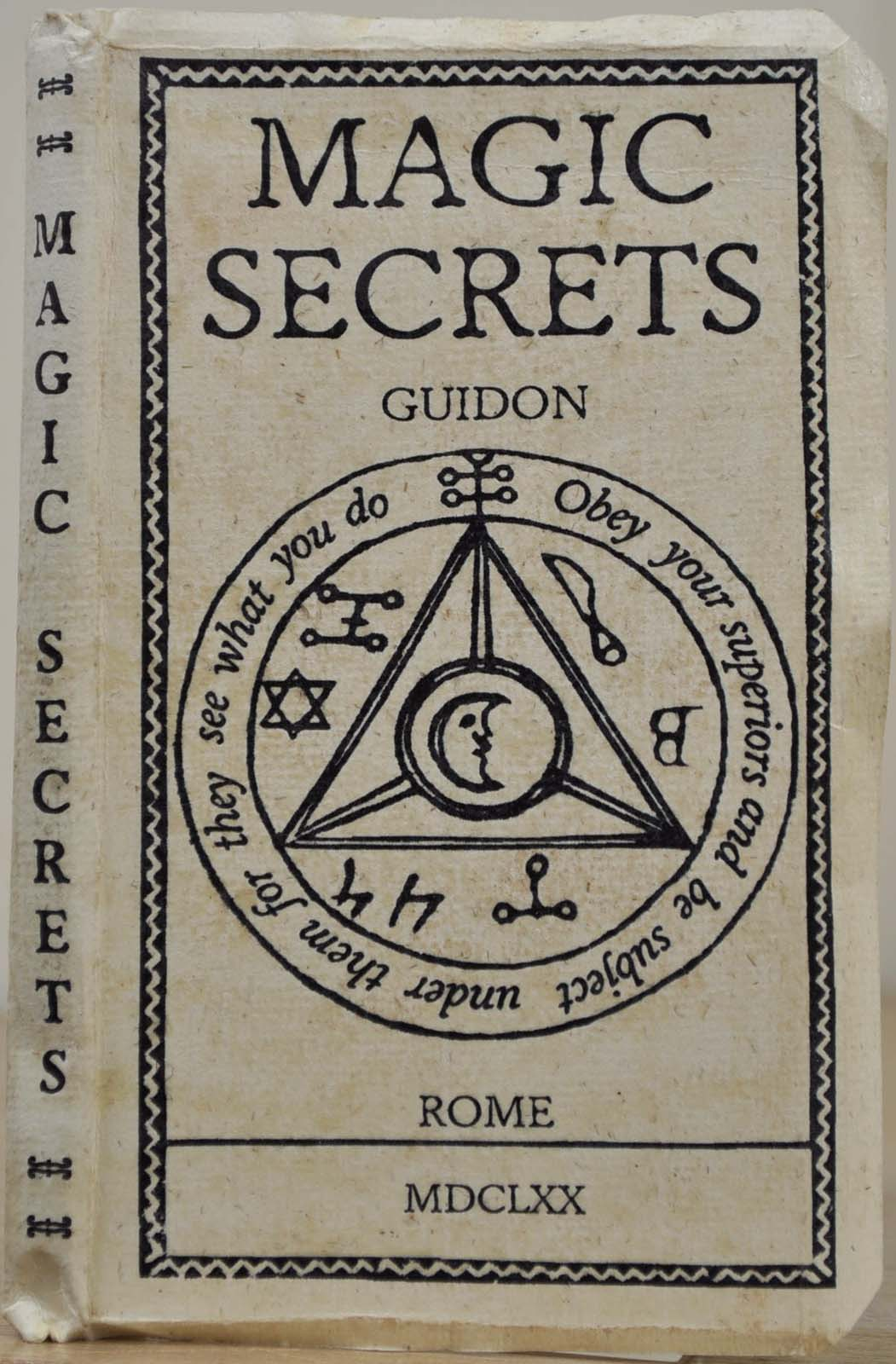 MAGIC SECRETS AND COUNTER-CHARMS OF GUIDON  Practitioner of Healing by  Occult Means by Guidon on Kurt Gippert Bookseller