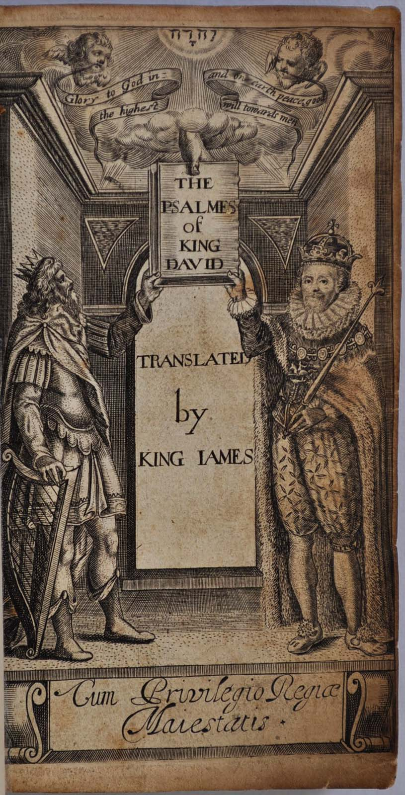 THE PSALMES OF KING DAVID, TRANSLATED BY KING JAMES by Bible  Psalms on  Kurt Gippert Bookseller