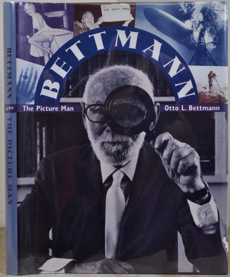 BETTMANN. The Picture Man. Signed by author. Dr. Otto L. Bettmann.
