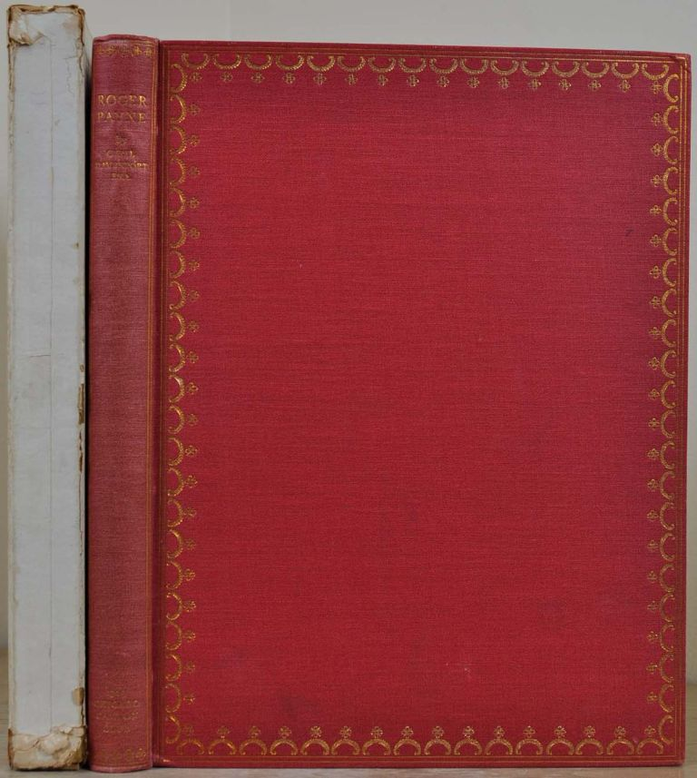 ROGER PAYNE. ENGLISH BOOKBINDER OF THE EIGHTEENTH CENTURY. Cyril Davenport, Roger Payne.