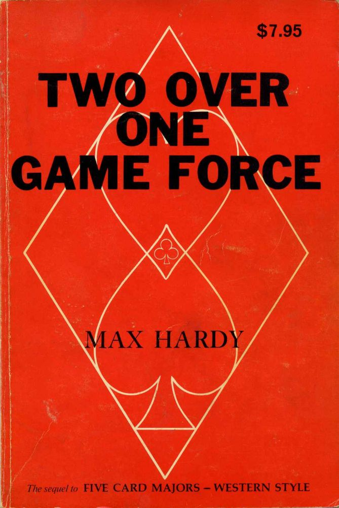 TWO OVER ONE GAME FORCE. Signed by Max Hardy. Max Hardy.