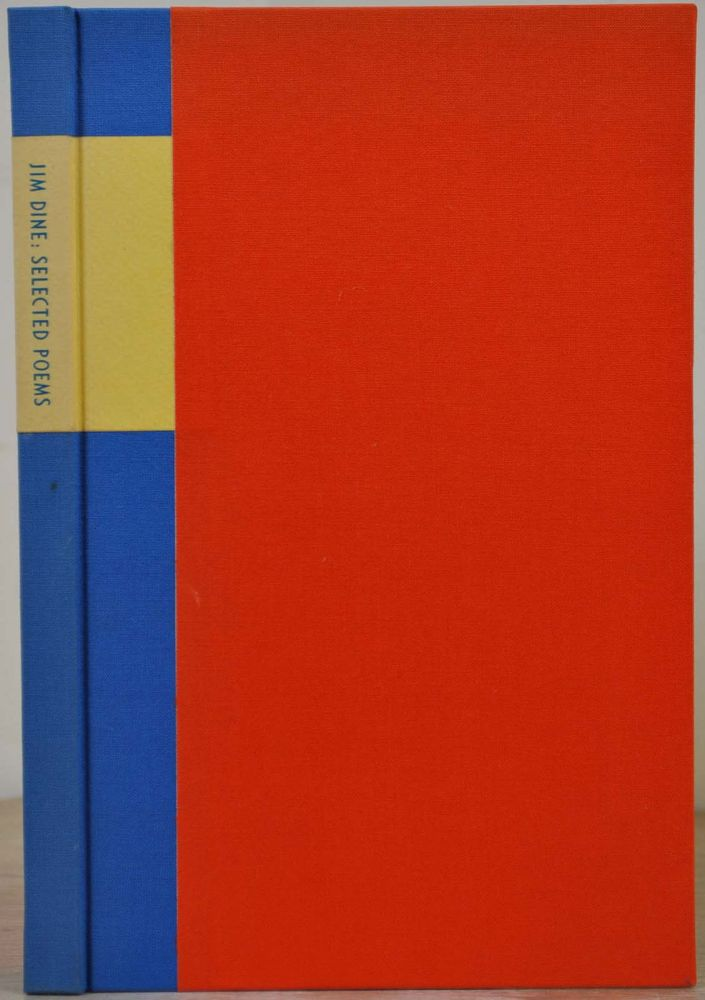 DIARY OF A NON-DEFLECTOR. Selected poems by Jim Dine. Signed and limited edition with an original etching. Jim Dine.