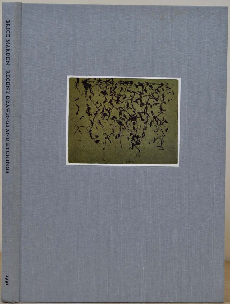 BRICE MARDEN RECENT DRAWINGS AND ETCHINGS. Signed and limited edition. Brice Marden, Pat Steir.
