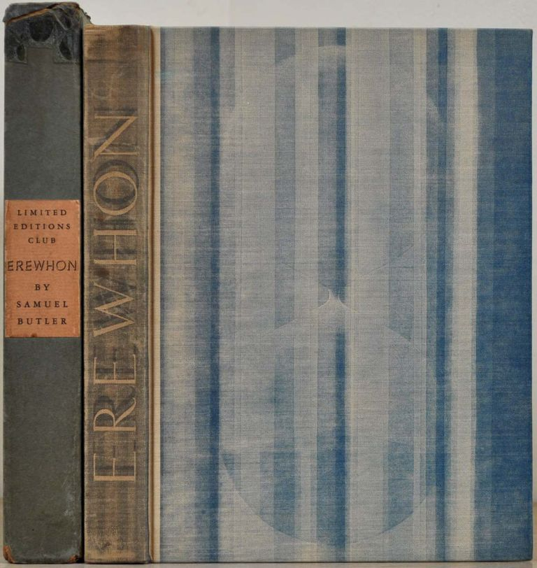 EREWHON. Illustrated and signed by Rockwell Kent. Samuel Butler, Rockwell Kent.
