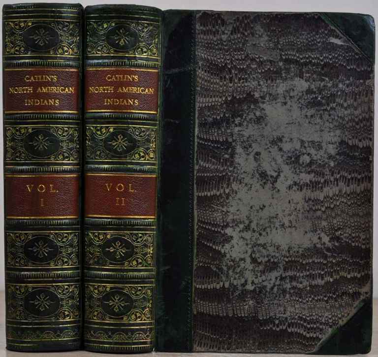 Letters and Notes on the Manners, Customs and Condition of the North American Indians. Written during Eight Years' Travel amongst the Wildest Tribes of Indians in North America. Two volume set. George Catlin.