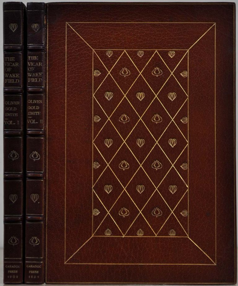 THE VICAR OF WAKEFIELD. A Tale Supposed To Be Written By Himself. Two volume set. Oliver Goldsmith.