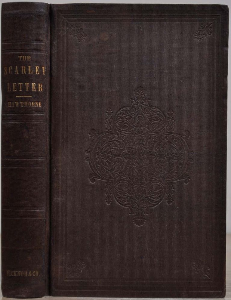 THE SCARLET LETTER. A Romance. Nathaniel Hawthorne.