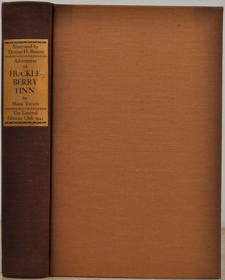 THE ADVENTURES OF HUCKLEBERRY FINN [Tom Sawyer's Companion]. Limited edition signed by Thomas Hart Benton. Mark Twain.
