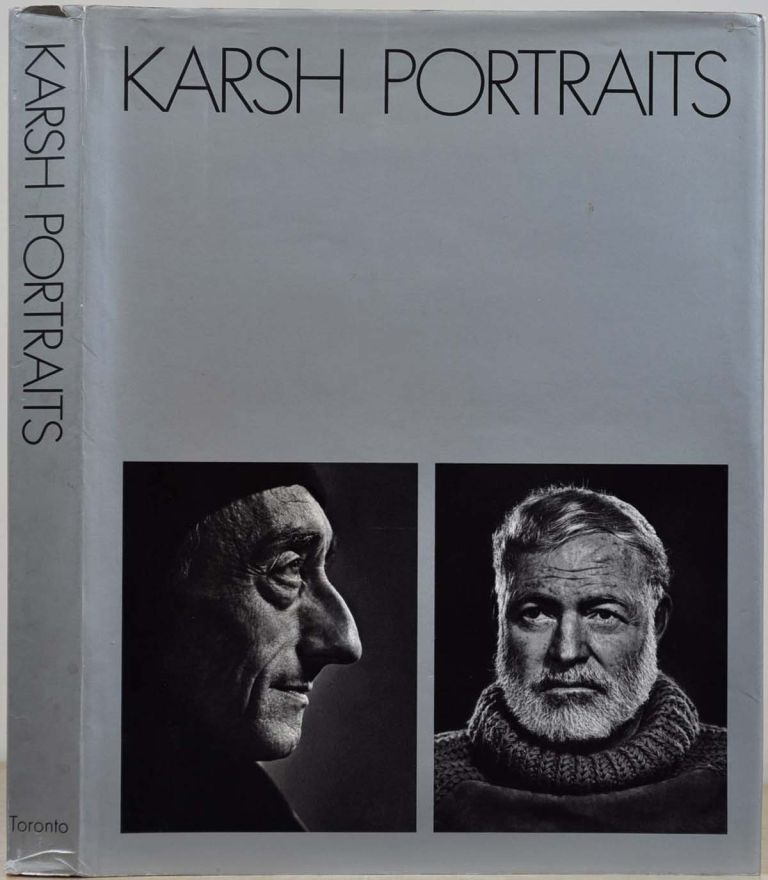 KARSH. Portraits. Signed and inscribed by Yousuf Karsh. Yousuf Karsh.