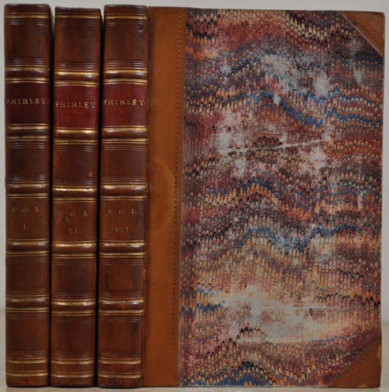 SHIRLEY. A Tale. Three volume set. Charlotte Bronte.