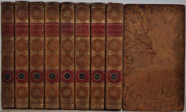 CLARISSA. Or, the History of a Young Lady. 8 volume set. Samuel Richardson.