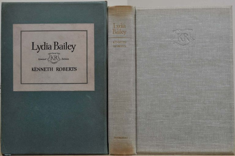 LYDIA BAILEY. Limited edition signed by Kenneth Roberts. With a page of the original manuscript. Kenneth Roberts.