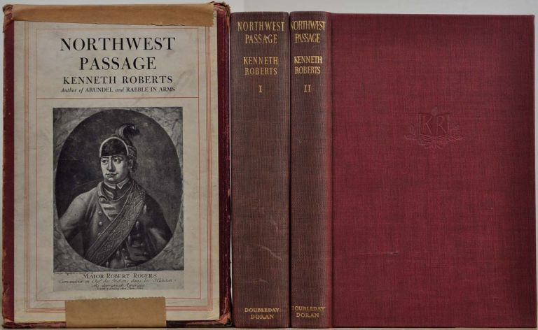 NORTHWEST PASSAGE. Limited edition signed by Kenneth Roberts. Kenneth Roberts.