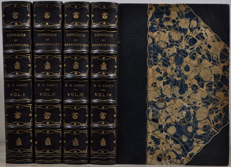 Shakespeare, William; Edwin A. Abbey. THE COMEDIES. Limited edition four volume set., Edwin A. Abbey.
