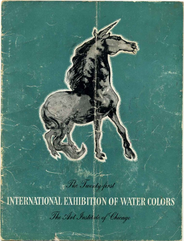 21st Twenty-first International Exhibition of Water Colors. May 14 to August 23, 1942. Art Institute of Chicago.