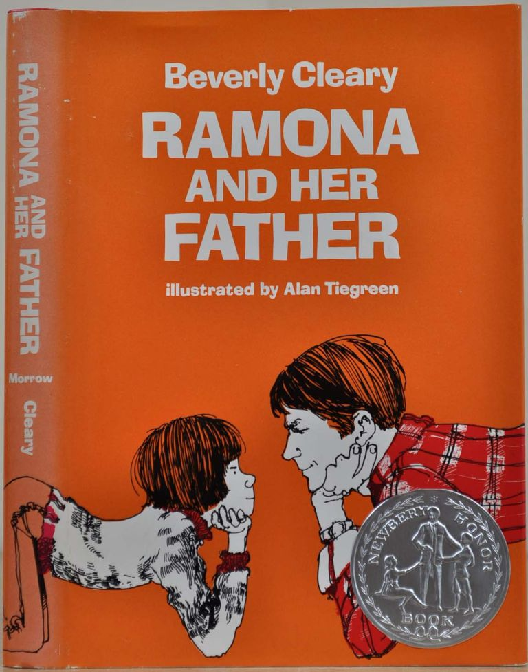 RAMONA AND HER FATHER. Signed by Beverly Cleary. Beverly Cleary.