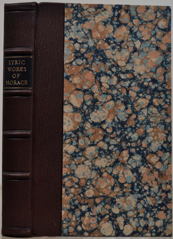 THE LYRIC WORKS OF HORACE, Translated into English Verse: to which are added a Number of Original Poems. By a Native of America. John Parke, Francis Johnston.