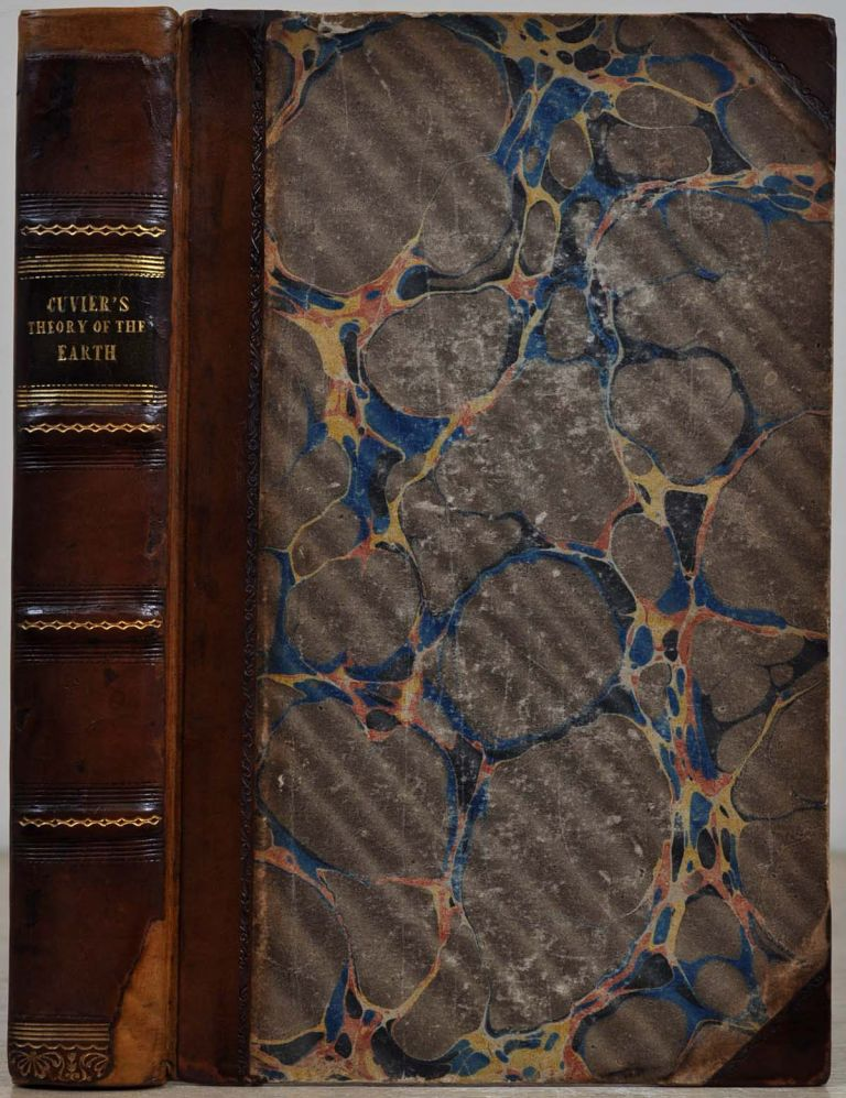 ESSAY ON THE THEORY OF THE EARTH. With Mineralogical Illustrations by Professor Jameson. Fourth edition, with Additions. Georges Cuvier, Robert Jameson.