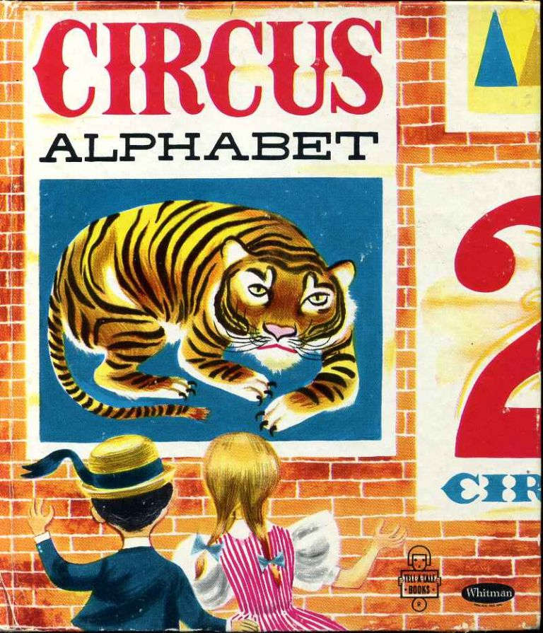 CIRCUS ALPHABET. Unknown.