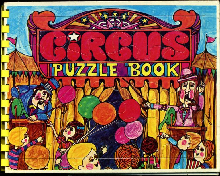 Circus puzzle book. Unknown.