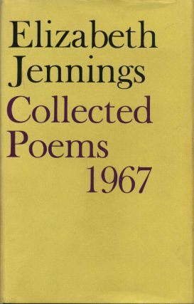 COLLECTED POEMS 1967. Elizabeth Jennings