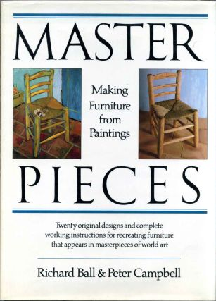 MASTERPIECES. Making Furniture from Paintings. Richard Ball, Peter Campbell