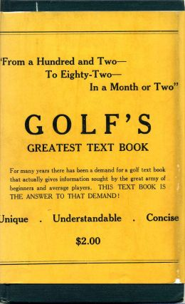 FROM A HUNDRED AND TWO TO EIGHTY-TWO IN A MONTH OR TWO. [Golf]. John Fuller Trump