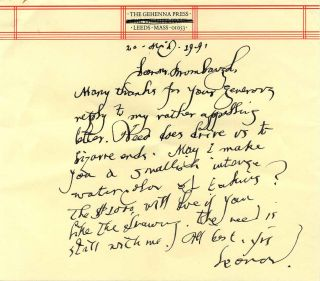 Collection of five related Autograph Letters Signed (ALS)