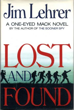 LOST AND FOUND. Signed by author. Jame Lehrer