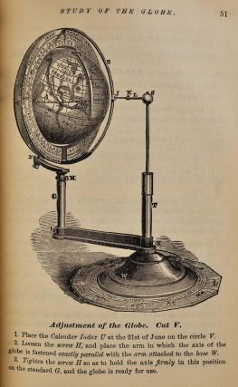 HAND-BOOK OF THE MACVICAR TELLURIAN GLOBE for the Use of Teachers, Schools, and Families, Containing a Complete Course of Illustrations and Problems in Geography and Astronomy.