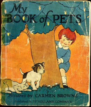 MY BOOK OF PETS. Carmen Browne