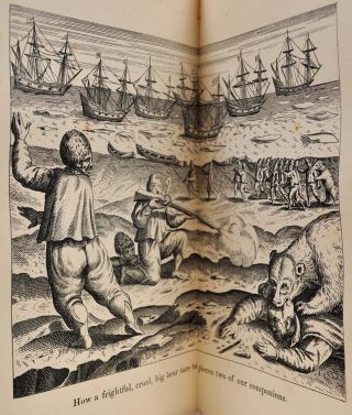 THE THREE VOYAGES OF WILLIAM BARENTS TO THE ARCTIC REGIONS, 1594, 1595, and 1596 by Gerrit de Veer. First edition edited by Charles T. Beck, 1853. Second edition, edited and with an introduction, by Lietenant Koolemans Beynen.