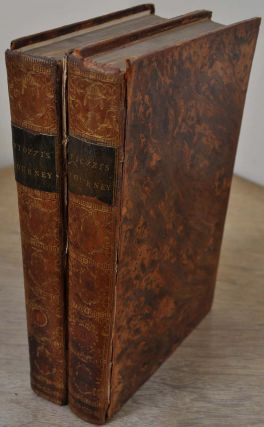 OBSERVATIONS AND REFLECTIONS MADE IN THE COURSE OF A JOURNEY THROUGH FRANCE, ITALY, AND GERMANY. In two volumes.