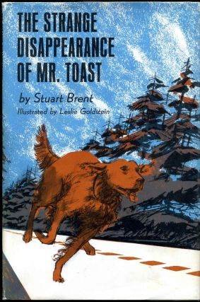 THE STRANGE DISAPPEARANCE OF MR. TOAST. Signed by the author. Stuart Brent