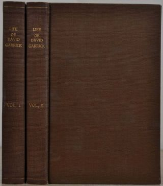 THE LIFE OF DAVID GARRICK, Esq. Two volume set. Arthur Murphy