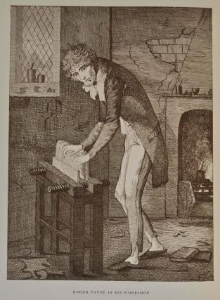 ROGER PAYNE. ENGLISH BOOKBINDER OF THE EIGHTEENTH CENTURY.