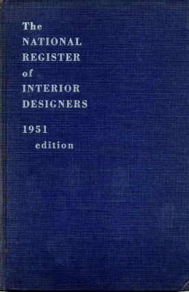 THE NATIONAL REGISTER OF INTERIOR DESIGNERS. Harry V. Anderson