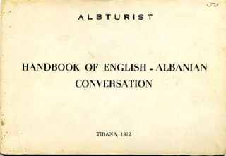 HANDBOOK OF ENGLISH - ALBANIA CONVERSATION. Albturist