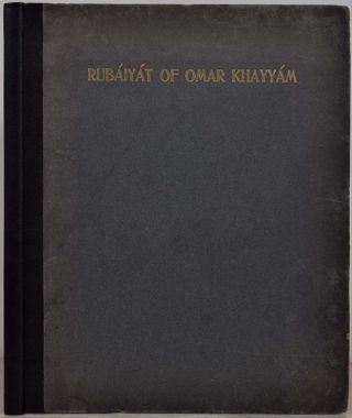 THE RUBAIYAT OF OMAR KHAYYAM. The Second Version of the Translations by Edward Fitzgerald.