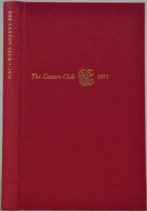 THE CAXTON CLUB. Yearbook 1965-1970. Officers, Committees, Constitution, Reports of Officers,...