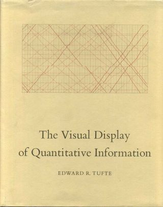 THE VISUAL DISPLAY OF QUANTITATIVE INFORMATION. Edward R. Tufte
