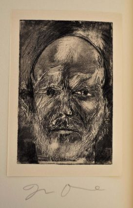 DIARY OF A NON-DEFLECTOR. Selected poems by Jim Dine. Signed and limited edition with an original etching.