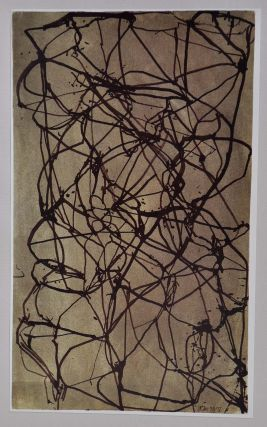 BRICE MARDEN RECENT DRAWINGS AND ETCHINGS. Signed and limited edition.