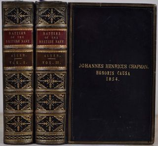 BATTLES OF THE BRITISH NAVY. In Two Volumes. New Edtion, Revised and Enlarged. Joseph Allen.
