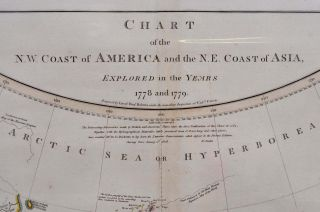 CHART OF THE N.W. COAST OF AMERICA AND THE N.E. COAST OF ASIA, EXPLORED IN THE YEARS 1778 AND 1779. Prepared by Lieutenant Henry Roberts, under the immediate Inspection of Captain Cook.