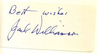 Wonder's Child: My Life in Science Fiction. Signed by Jack Williamson.