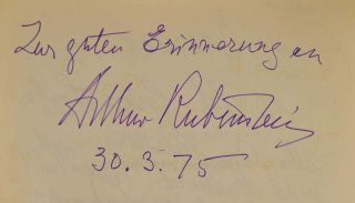 GUEST BOOK FOR THE CASTELLO BAR AT THE CASTLE SCHLOSS MONDSEE Near Salzburg, Austria 1952-1988.